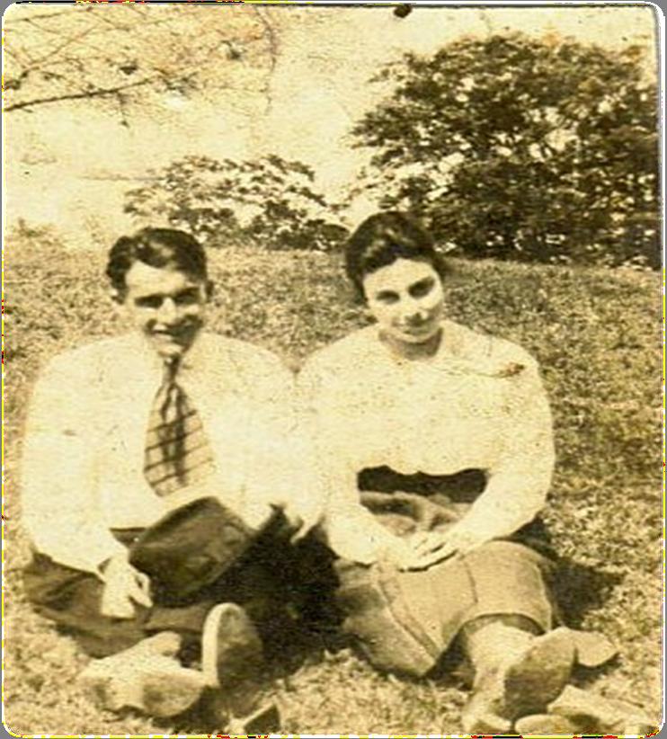 Granny and Grandpa Edwards