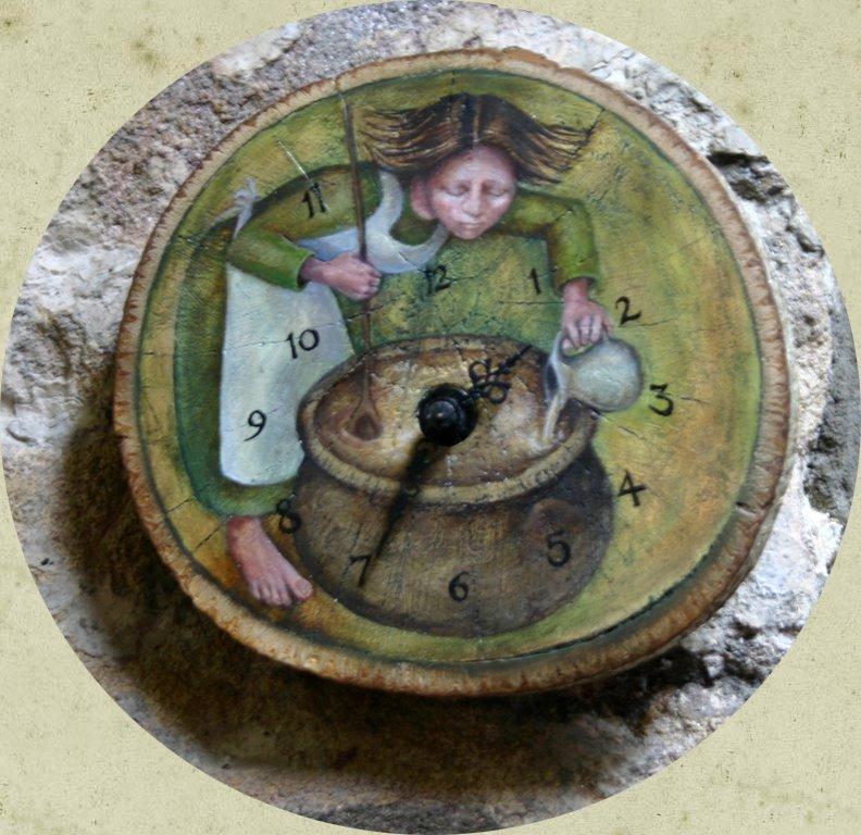 Perfumier's clock 5