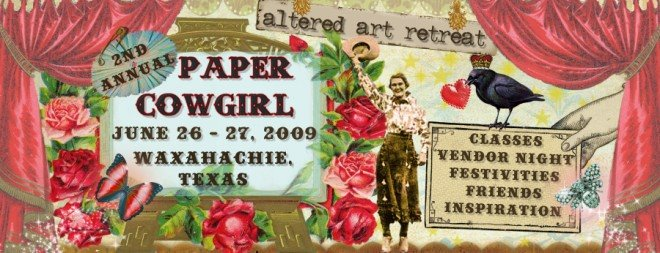 PAPERCOWGIRL BANNER