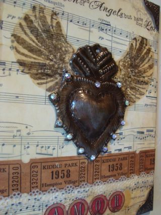 Vintage bliss sacred heart