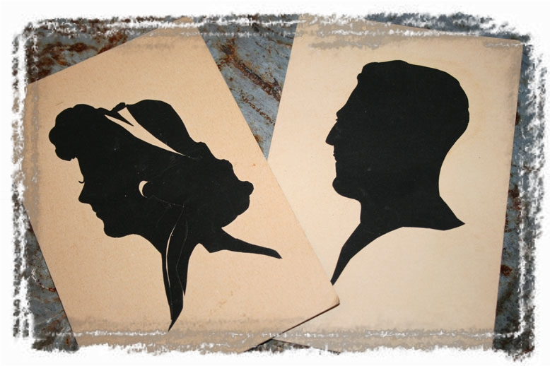 SILHOUETTES (framed with ArtEdges)