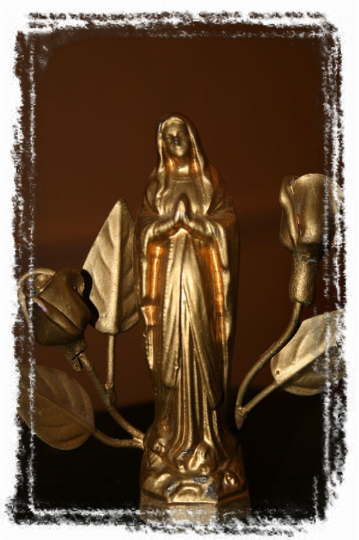 SMALL-MADONNA (framed with ArtEdges)