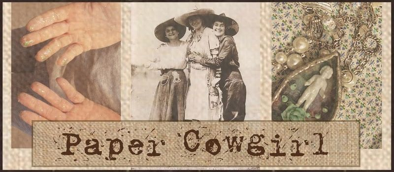 Papercowgirlbanner with border copy