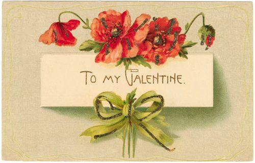To-my-valentine-vintage-card